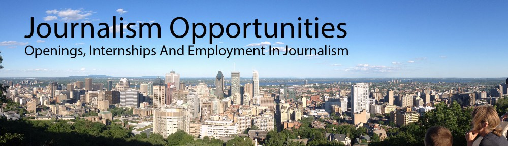 Journalism Opportunities